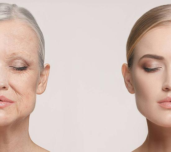 evolution apparence visage